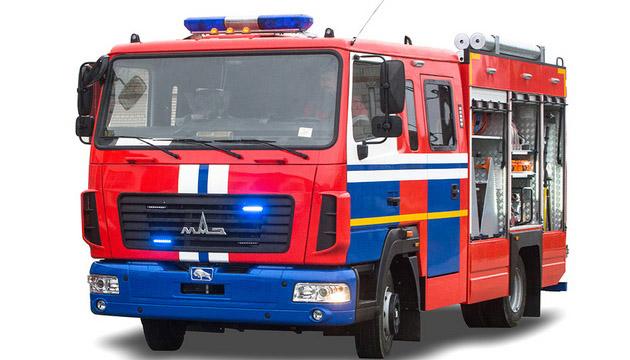 АБР на шасси МАЗ 4371