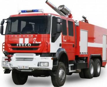 Автоцистерны пожарные на шасси IVECO