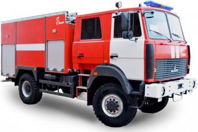 Автоцистерны пожарные на шасси МАЗ