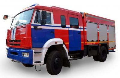 Автоцистерны пожарные на шасси КАМАЗ
