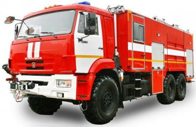 Фото АА 6,0 (КАМАЗ 43118) - Пожарный аэродромный автомобиль