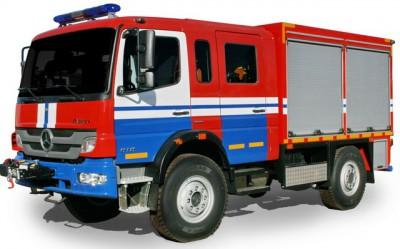 Фото  АСА (Mercedes) - Аварийно-спасательный автомобиль химической и радиационной защиты