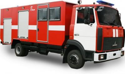 Фото АГ (МАЗ 4370) - Автомобиль газодымозащитной службы