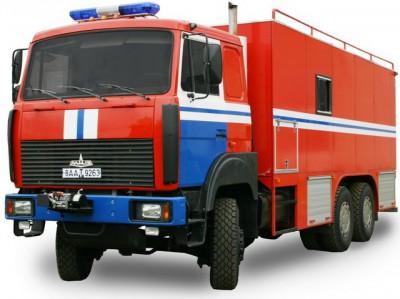 Фото АВС (МАЗ 6317) - Автомобиль водолазной службы