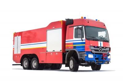 Фото Air crash tender AA 12,4/100-250/3 (Mercedes)