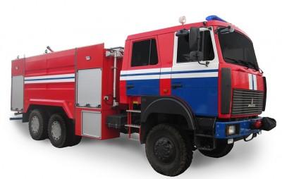 Фото TT (АFET-air-foam extinguishing truck) 8,0 (10,0) (MAZ 6317)