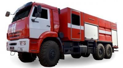 Фото TT (АFET-air-foam extinguishing truck) 5,0 ( 6,0 7,0 8,0) (KAMAZ 43118)
