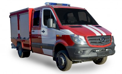 Фото Emergency-rescue vehicle ERW (Mercedes Benz Sprinter)
