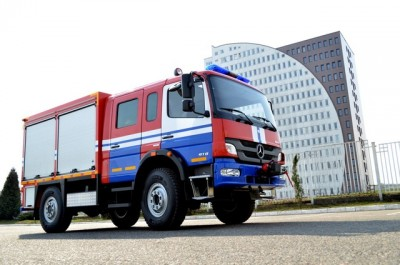 Фото Emergency-rescue vehicle ERV (Mercedes)