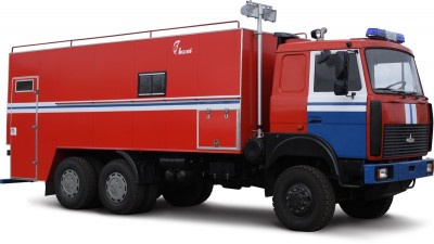 Фото Command point mobile CPM (MAZ 6317)