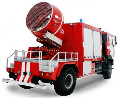 Фото Anti-smoke fire-fighting truck (MAZ 5309)