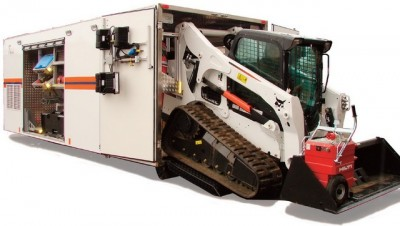 Фото Demountable module of container type for emergency response.