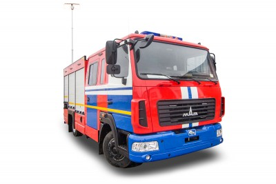 Фото Автомобиль быстрого реагирования АБР (МАЗ 4371)