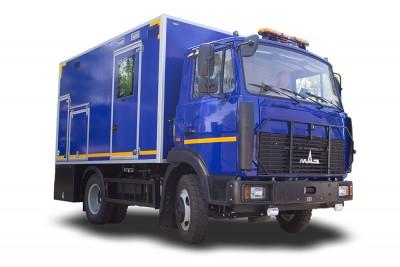 Фото Автомобиль специальный грузопассажирский с кузовом мастерской АВМ (4570)