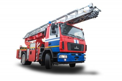 Фото Автолестница пожарная АЛ-30 (5340)