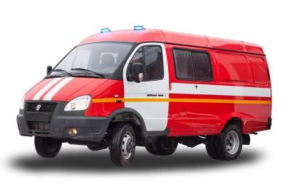 Фото АШ (ГАЗ-2705) – Штабной автомобиль