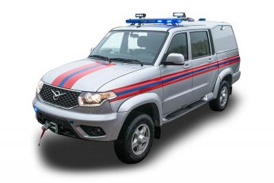Фото АШ (УАЗ) – Штабной автомобиль