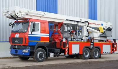 Фото Автоподъемник пожарный АПК-50 (6312)